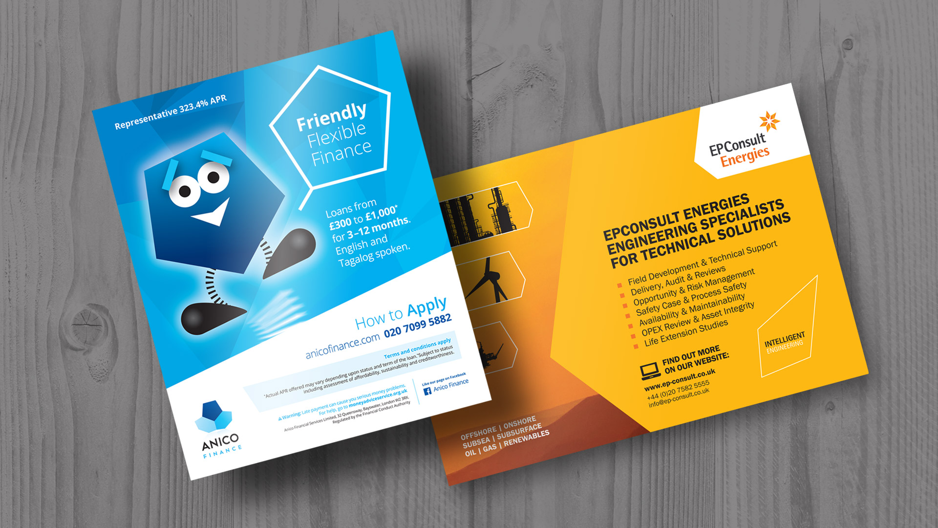 Flyer design for new business