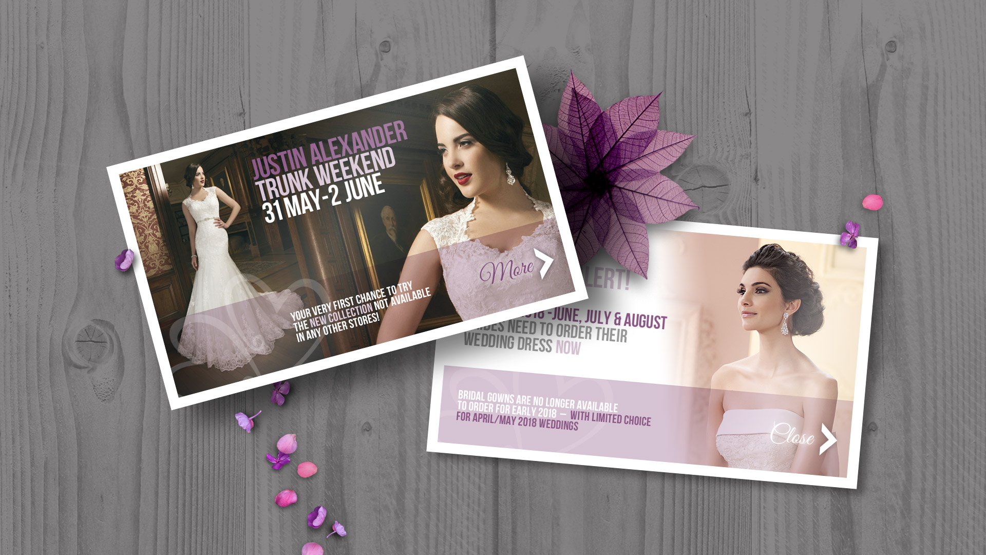 Design branding bridal shop